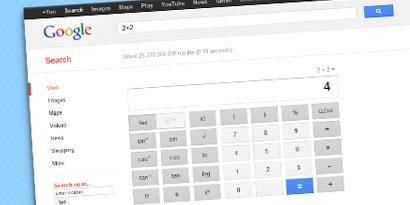 Imagem de Google adiciona calculadora de 34 botões ao buscador no site TecMundo