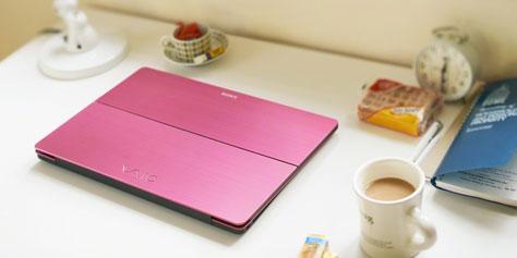 Imagem de Sony Vaio Flip: notebook tem tela móvel que transforma aparelho em tablet no site TecMundo