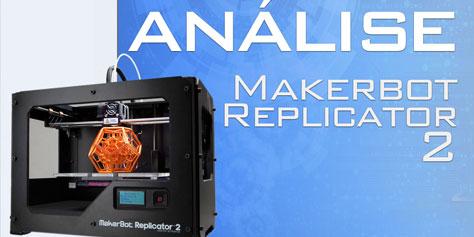 Imagem de Testamos a impressora 3D MakerBot Replicator 2 [vídeo] no site TecMundo