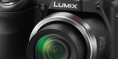 Imagem de Análise: câmera Panasonic Lumix LZ20 no site TecMundo