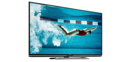 Imagem de TV 4K de 70 polegadas da Sharp chega em agosto por US$ 8 mil no site TecMundo