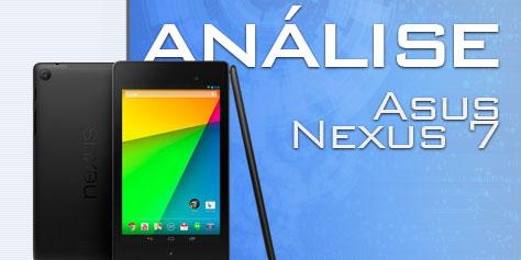 Imagem de Análise: tablet ASUS Google Nexus 7 (2013) [vídeo] no site TecMundo