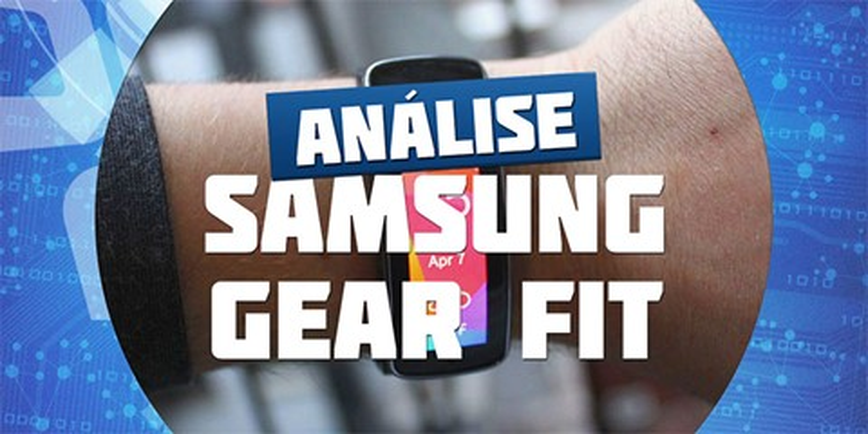 Imagem de Análise: smartwatch Samsung Gear Fit [vídeo] no site TecMundo