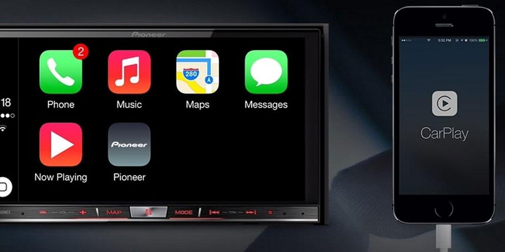 Imagem de Pioneer lança seus primeiros rádios com suporte ao CarPlay, da Apple no site TecMundo