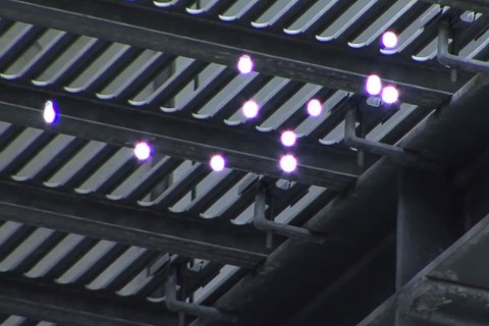 Imagem de Sistema faz uso de feixes de laser para projetar imagens 3D em pleno ar no site TecMundo