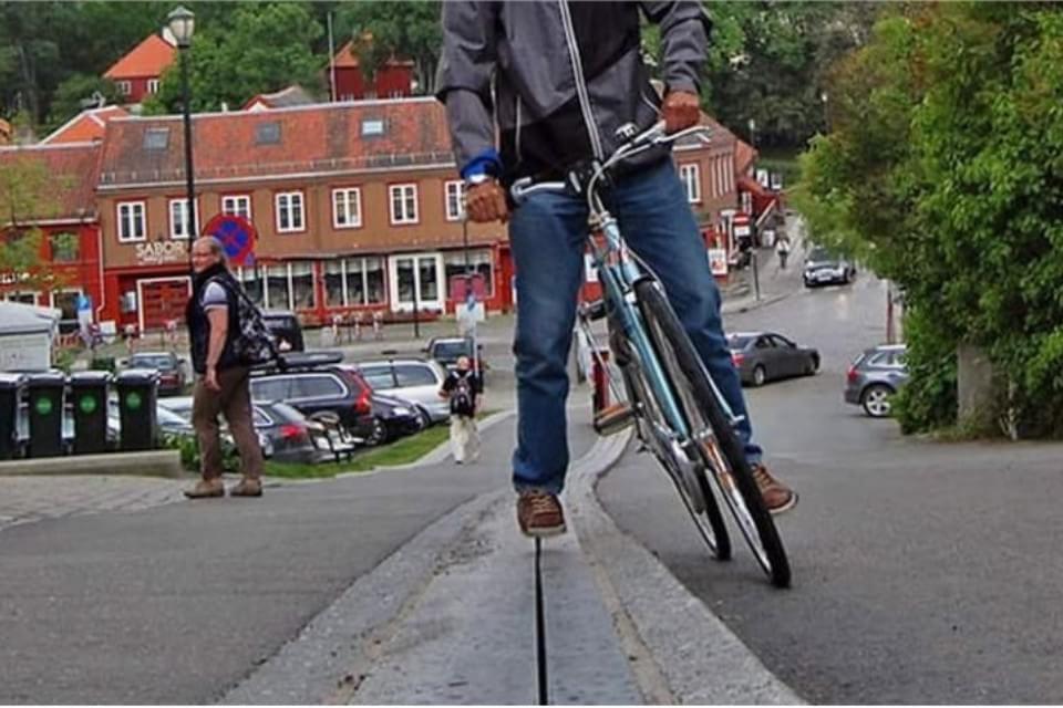 Imagem de Quer uma forcinha na hora de subir ladeira de bicicleta? Veja essa invenção no site TecMundo