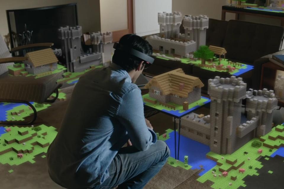 Imagem de Satya Nadella: HoloLens foi o que levou a Microsoft a comprar Minecraft no tecmundo