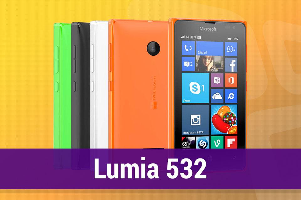 Imagem de Análise: smartphone Microsoft Lumia 532 Dual SIM [vídeo] no tecmundo