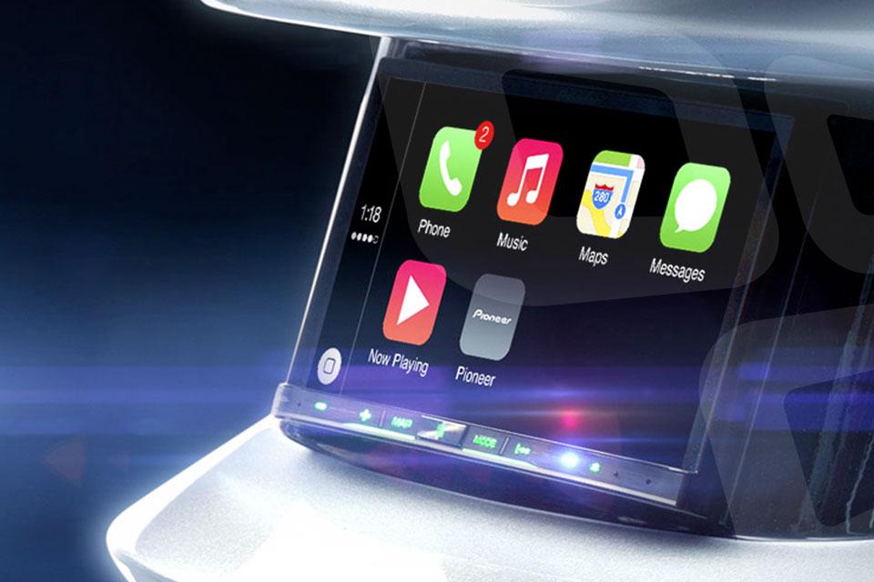 Imagem de Tenha o Apple CarPlay no seu carro com esta Central Multimídia da Pioneer no tecmundo