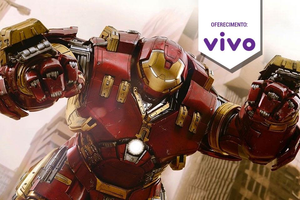 Imagem de Action Figure espetacular da armadura Hulkbuster esteve na Comic-Con 2015 no tecmundo