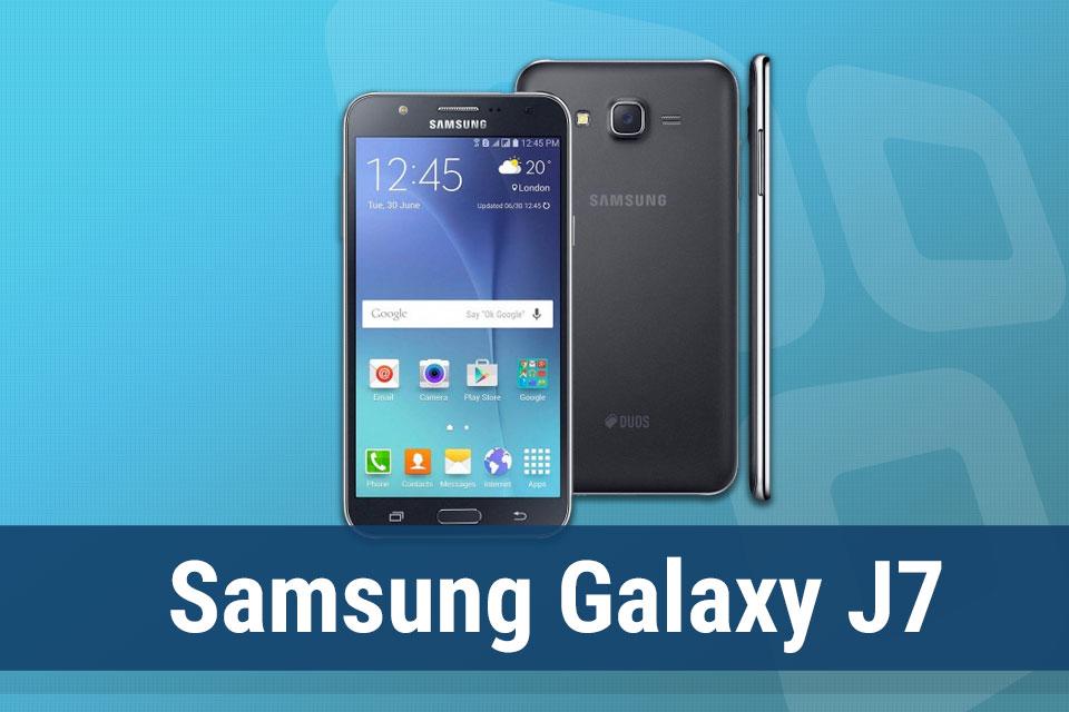 Imagem de Análise: smartphone Samsung Galaxy J7 no tecmundo
