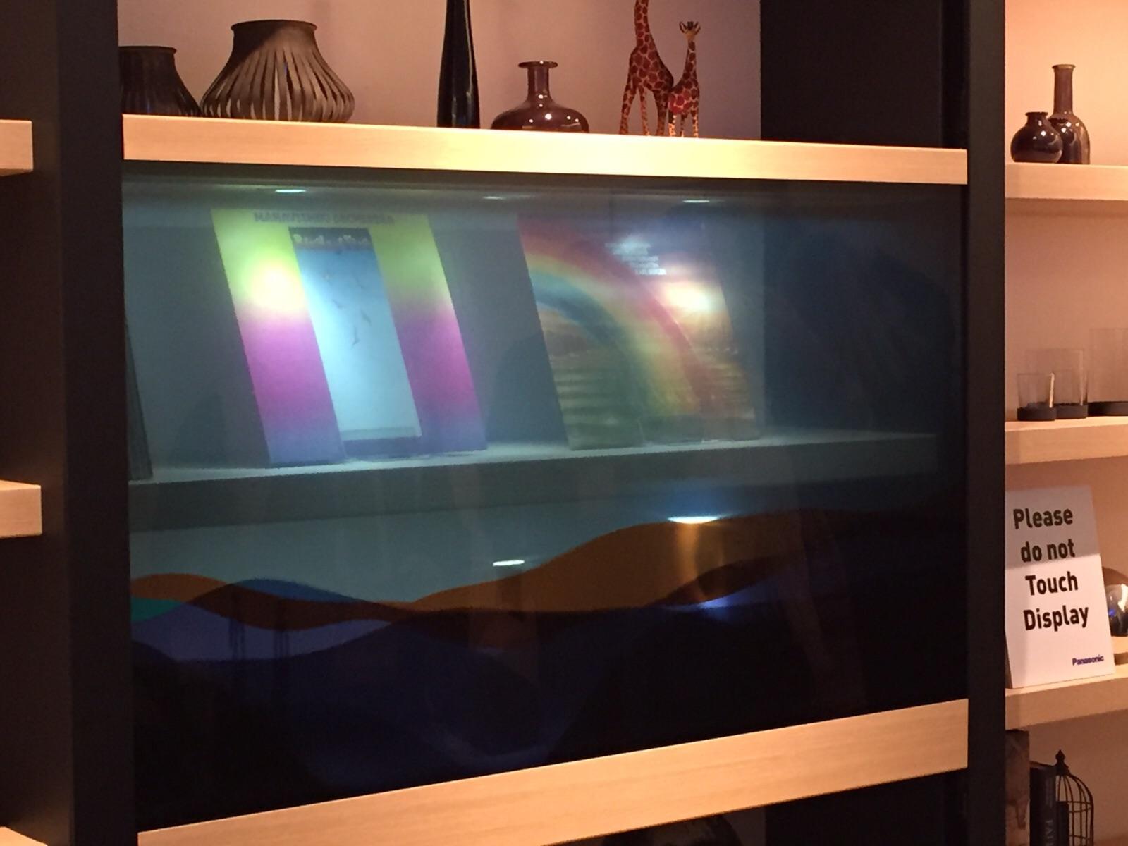 Imagem de Panasonic apresenta displays transparentes incríveis na CES 2016 no tecmundo