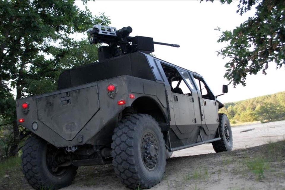 Imagem de Hellhound: a picape militar que é pau pra toda obra no tecmundo