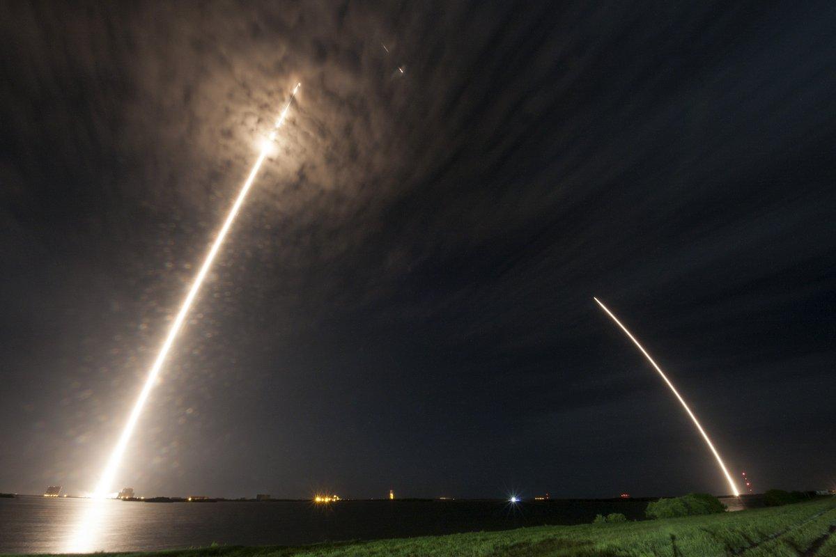 Imagem de SpaceX conseguiu aterrissar o Falcon 9 em solo terrestre pela segunda vez no tecmundo