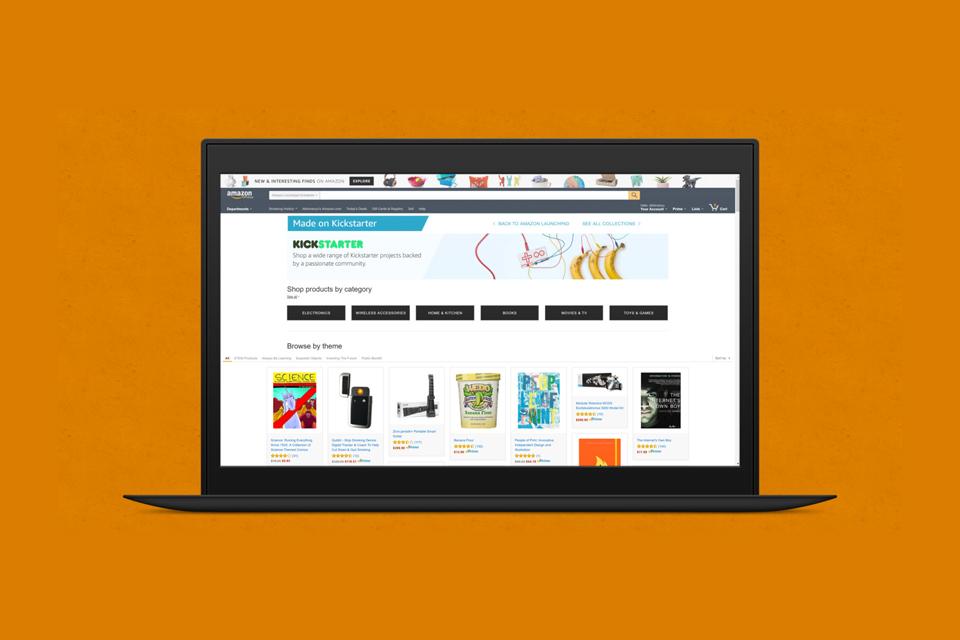 Imagem de Amazon lança página para destacar produtos fundados no Kickstarter no tecmundo