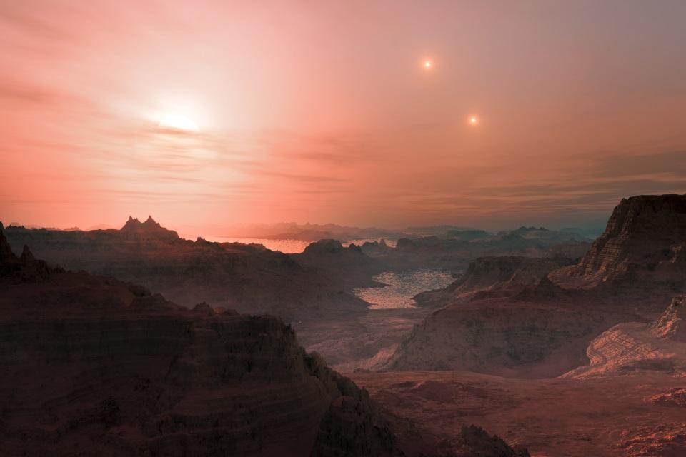 Imagem de Exoplaneta potencialmente habitável foi encontrado bem pertinho da Terra no tecmundo