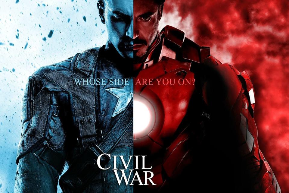 Imagem de Vídeo com os erros de gravação de Capitão América: Guerra Civil no tecmundo