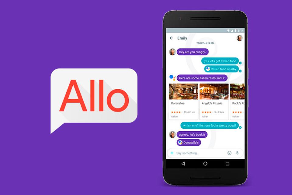 Imagem de WhatsApp fica de lado? Já é possível baixar e usar o Google Allo no Brasil no tecmundo