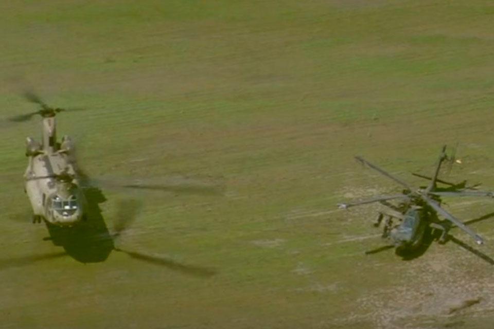 """Imagem de Helicóptero de carga resgata """"irmão menor"""" depois de pouso forçado no tecmundo"""