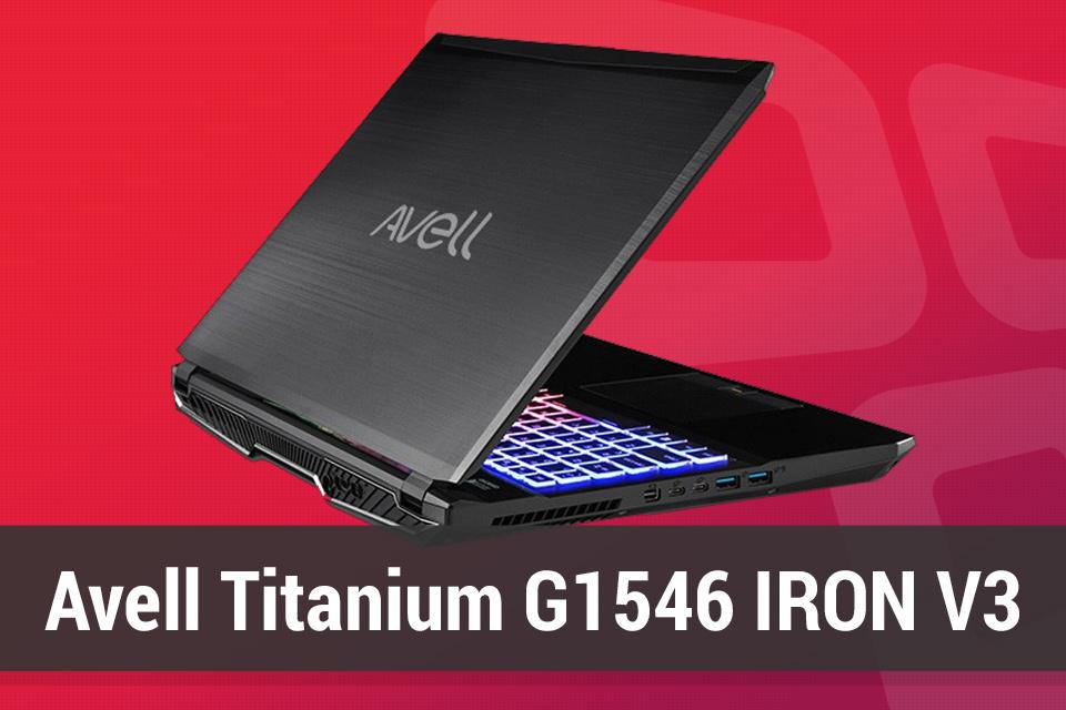 Imagem de Review: notebook gamer Avell Titanium G1546 IRON V3 [vídeo] no tecmundo