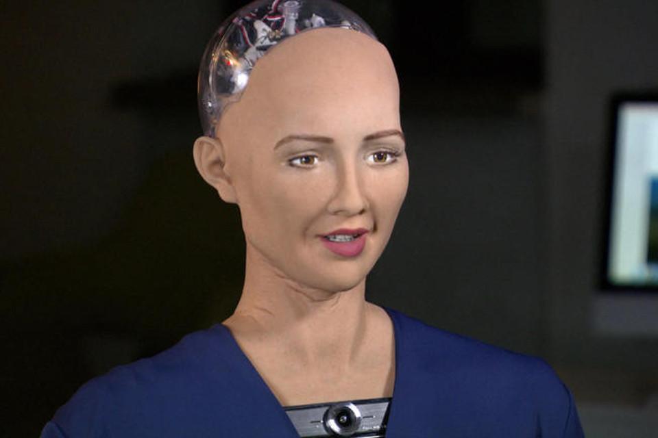 Imagem de Uma entrevista com Sophia, um robô dotado de inteligência artificial no tecmundo