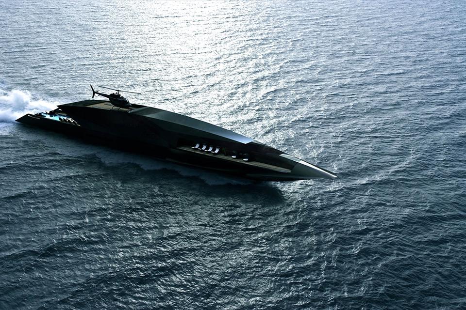 """Imagem de Conheça o Black Swan, o imenso iate de luxo que é um """"palácio flutuante"""" no tecmundo"""