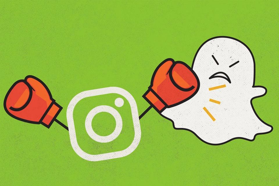 """Imagem de Estaria o Instagram Stories """"matando lentamente"""" o Snapchat? no tecmundo"""