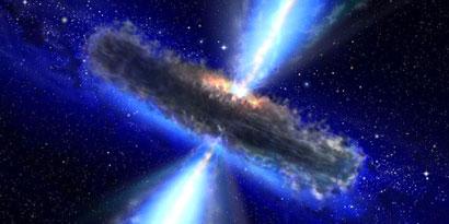 Imagem de NASA revela maior reservatório de água já visto no universo no site TecMundo