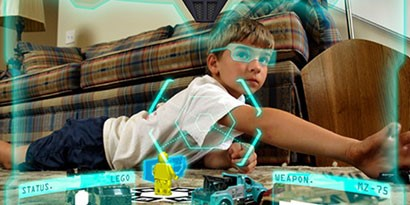 Imagem de Como funciona a Realidade Aumentada no site TecMundo