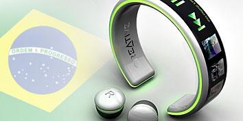 Imagem de Player MP3 de pulso é conceito brasileiro! no site TecMundo