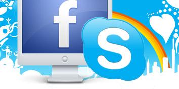 Imagem de Como integrar o Facebook ao Skype no site TecMundo