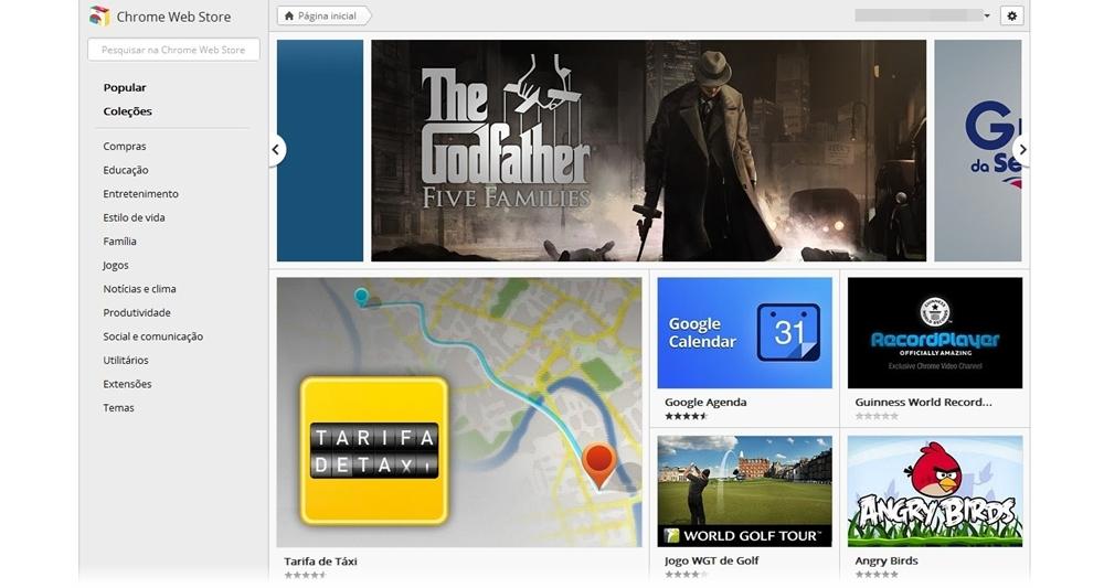 Google lança nova interface da Chrome Web Store - TecMundo