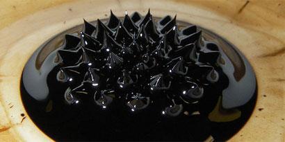 Imagem de Ferrofluido: o primo malvado do aerogel no site TecMundo