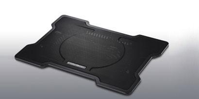 Imagem de Cooler Master lança base X-Slim para refrigeração de notebooks no site TecMundo