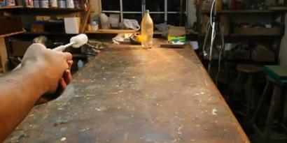 Imagem de Faça um revólver com álcool e acendedor de fogão [Iberê] no site TecMundo