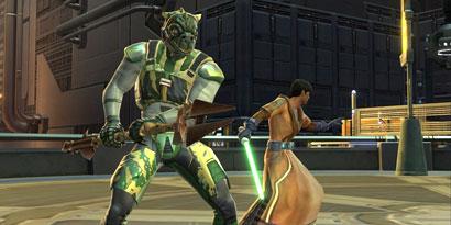 Imagem de Star Wars: The Old Republic bate recorde de usuários e horas de jogo no site TecMundo