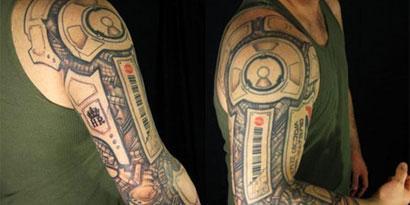 Imagem de 15 tatuagens nerds alucinantes no site TecMundo