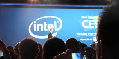 Imagem de Resumo: conferência com o presidente da Intel na CES 2012 no site TecMundo