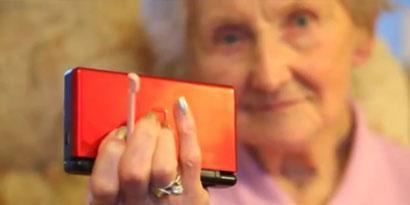 Imagem de Vovó de 100 anos joga DS melhor do que você! [vídeo] no site TecMundo