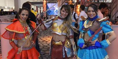 Imagem de Os melhores cosplays da BGS 2012 no site TecMundo