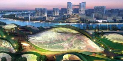 Imagem de Tianjin Eco-City: China quer construir a maior cidade autossustentável do mundo no site TecMundo
