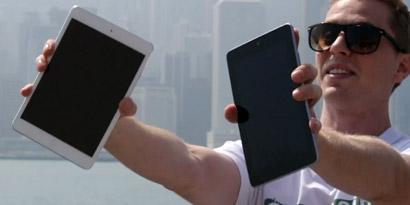 Imagem de Teste de queda: iPad mini versus Nexus 7. Façam suas apostas! [vídeo] no site TecMundo