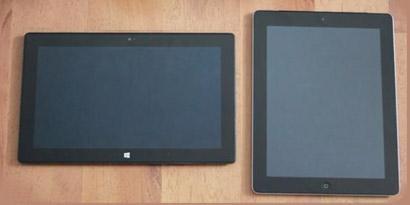 Imagem de Surface é mais rentável que o iPad 3 no site TecMundo