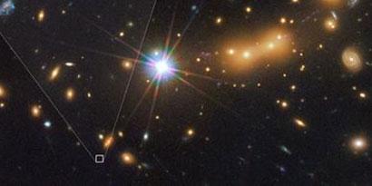 Imagem de Telescópio Hubble descobre a galáxia mais distante já observada no site TecMundo
