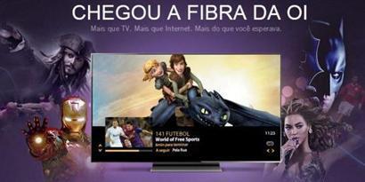 Imagem de TV por fibra óptica da Oi é lançada com internet de 200 Mbps no site TecMundo