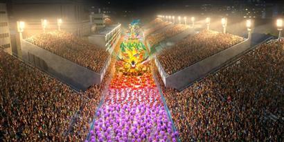 Imagem de Carnaval do Rio será exibido em 3D para todo o Brasil no site TecMundo