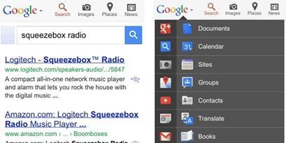 Imagem de Novo menu de navegação volta para a interface do Google no site TecMundo