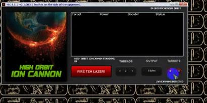 Imagem de HOIC: a nova superarma dos hackers para derrubar sites no site TecMundo