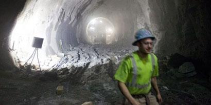 Imagem de Veja como é a construção de um túnel de metrô nos EUA no site TecMundo