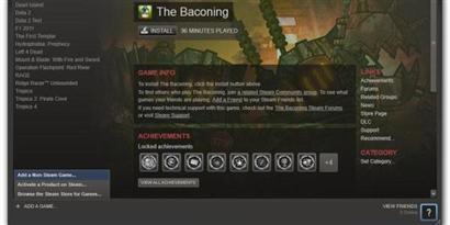 Imagem de Como adicionar jogos externos ao Steam no site TecMundo